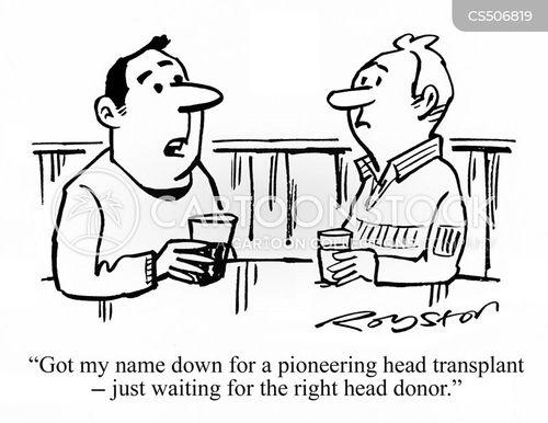 pioneering surgery cartoon