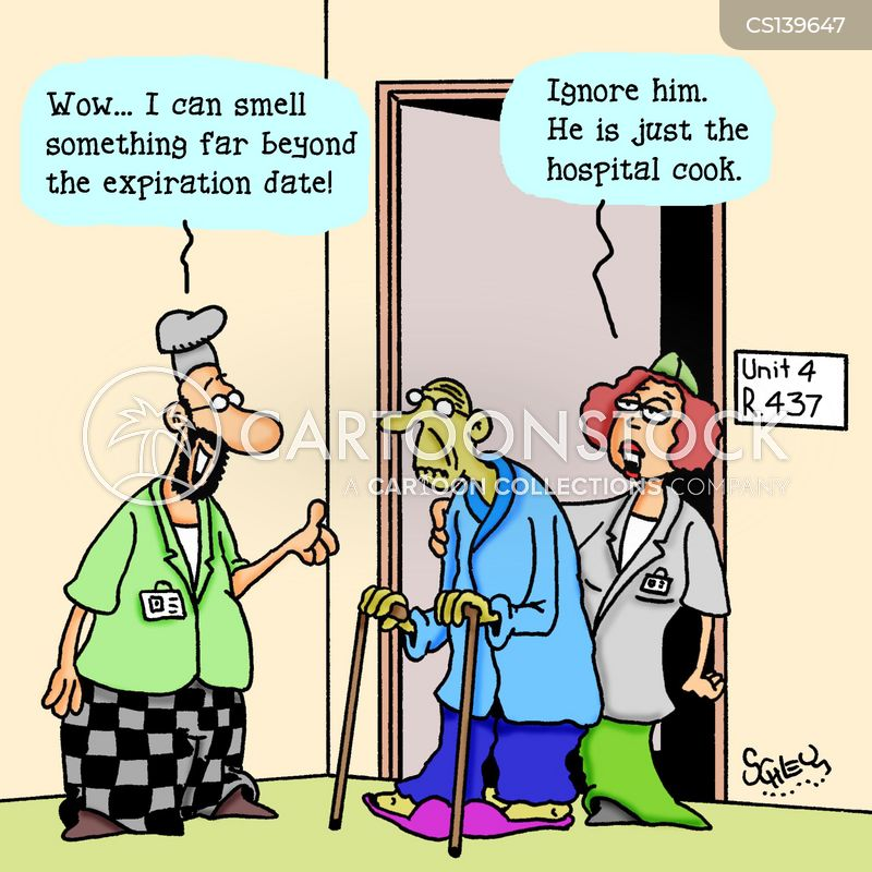 hospital cook cartoon