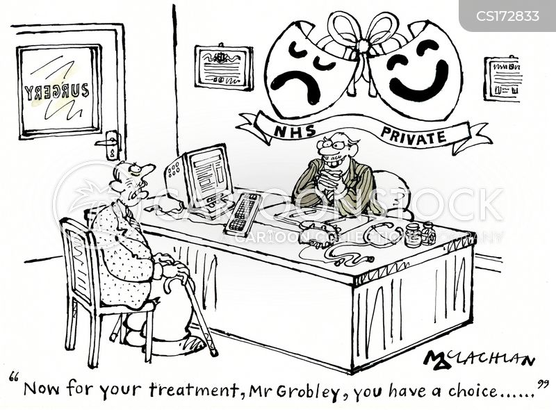 Image result for private medical insurance cartoon