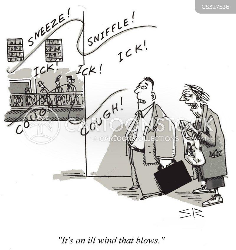 sniffle cartoon