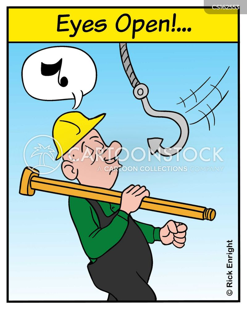 safety rule cartoon