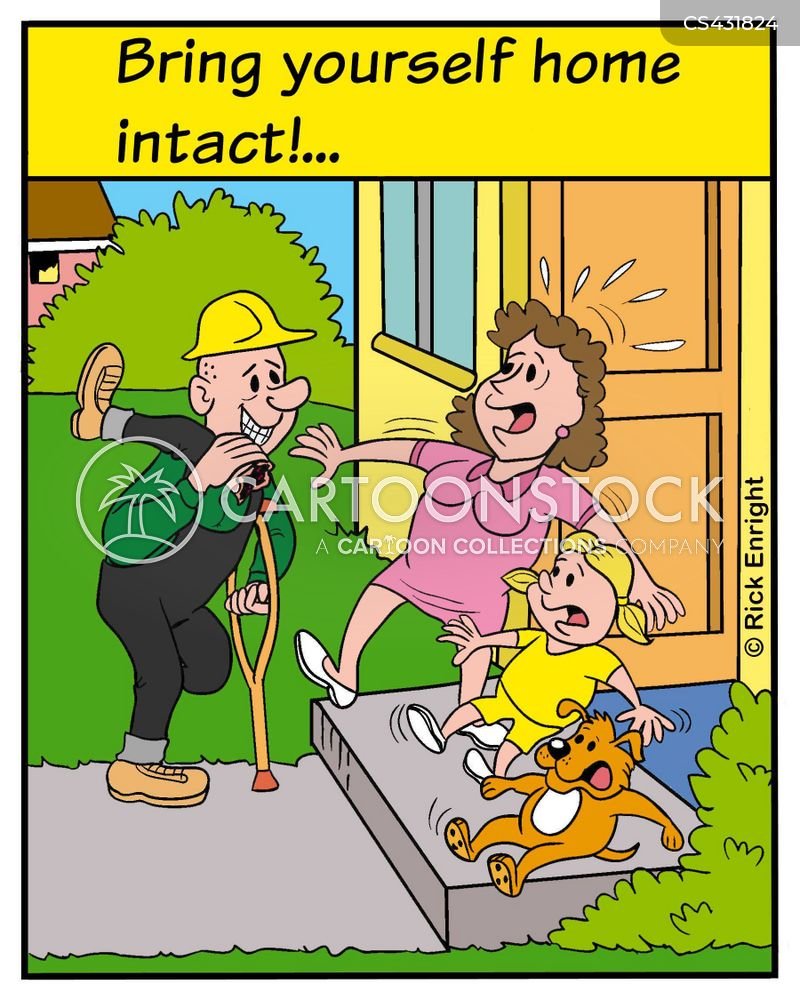 safety inspections cartoon