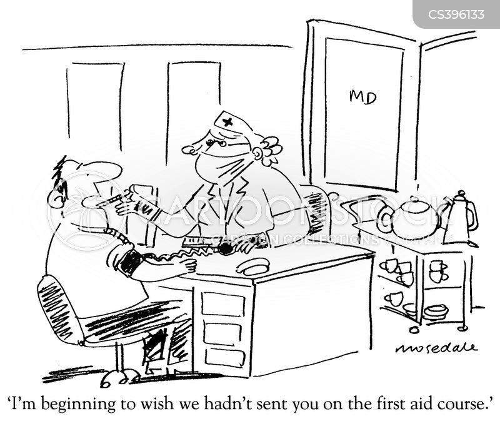 flu virus cartoon