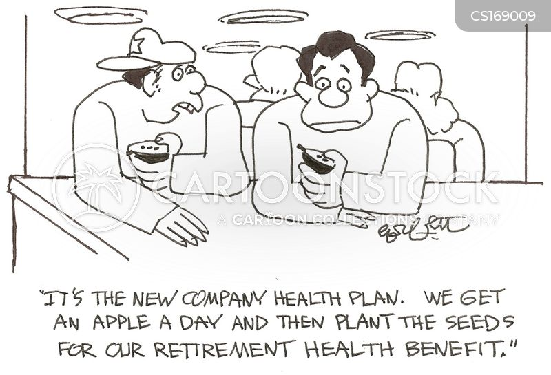 job benefits cartoon