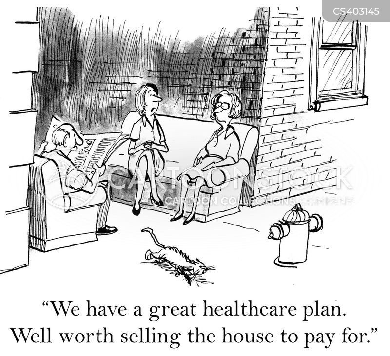 healthcare plans cartoon