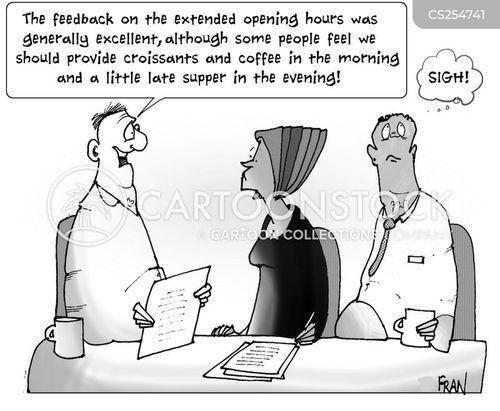 never satisfied cartoon