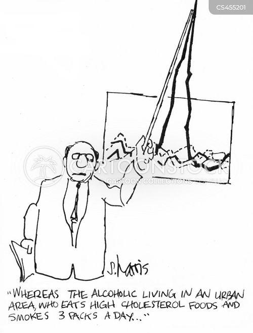 medical risk cartoon