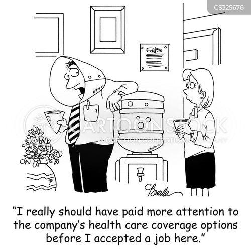 health coverage cartoon