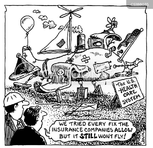 health-care system cartoon
