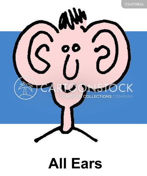 all ears cartoon