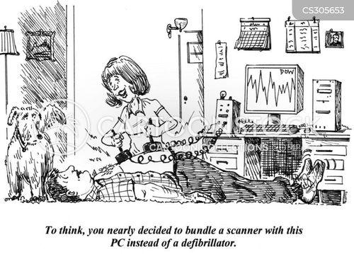 heart failure cartoon