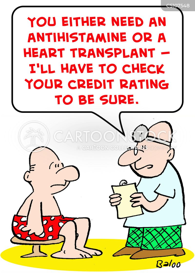 heart transplant cartoon