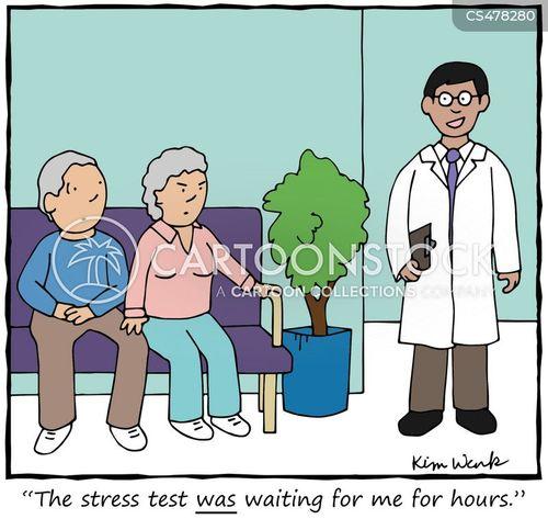 pulse rate cartoon