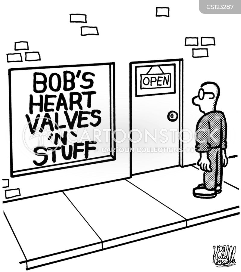 store fronts cartoon