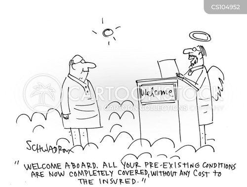 pre-existing cartoon