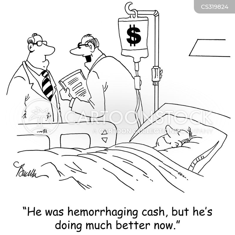 iv therapy cartoon