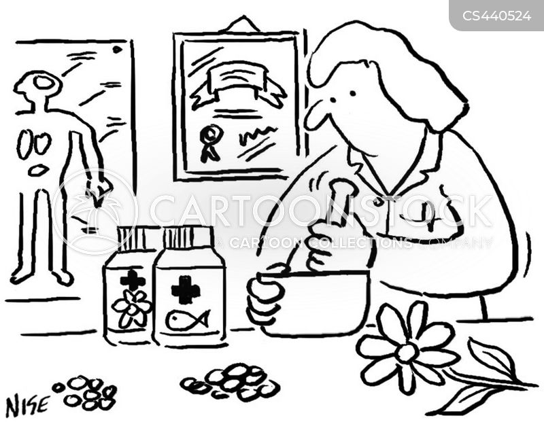 herbal remedy cartoon