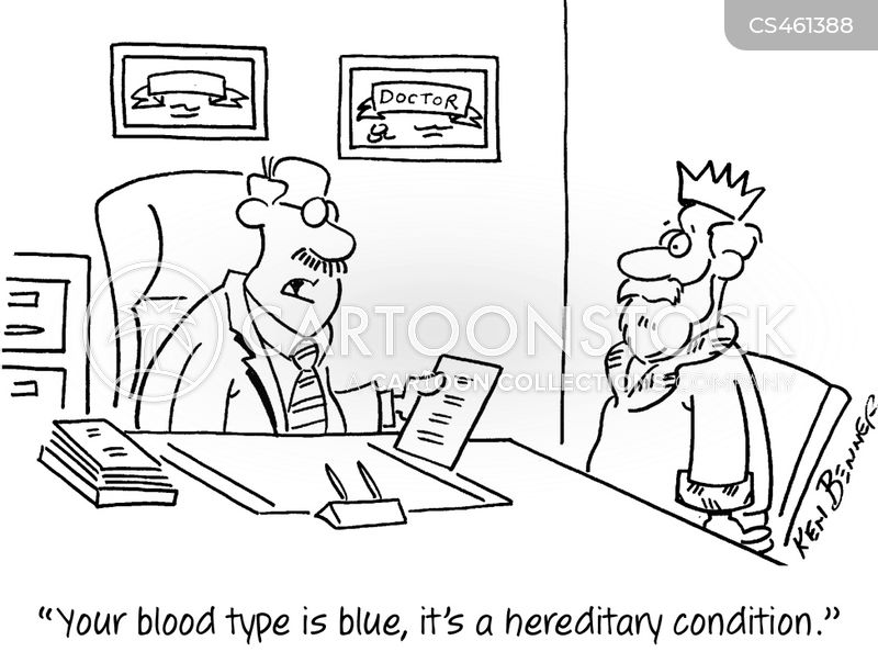 blueblood cartoon