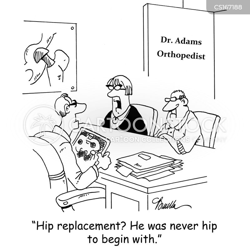 orthopedic cartoon