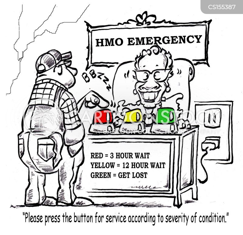 health maintenance organisation cartoon