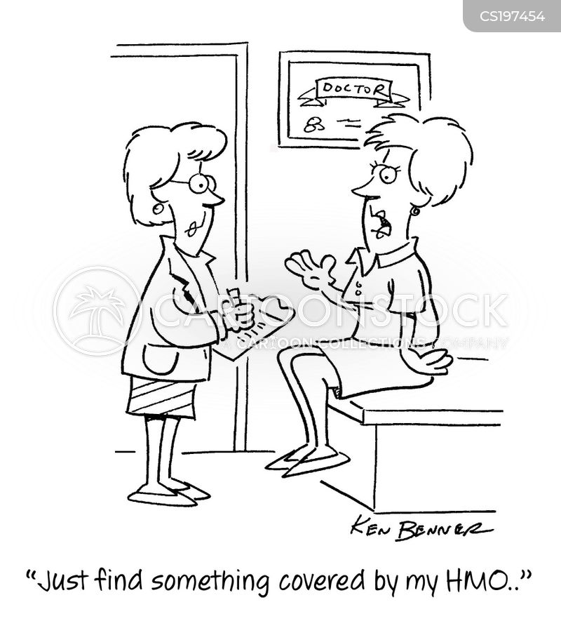 health maintenance organisations cartoon