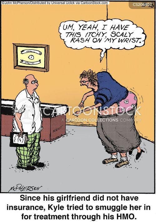 health maintenance organization cartoon