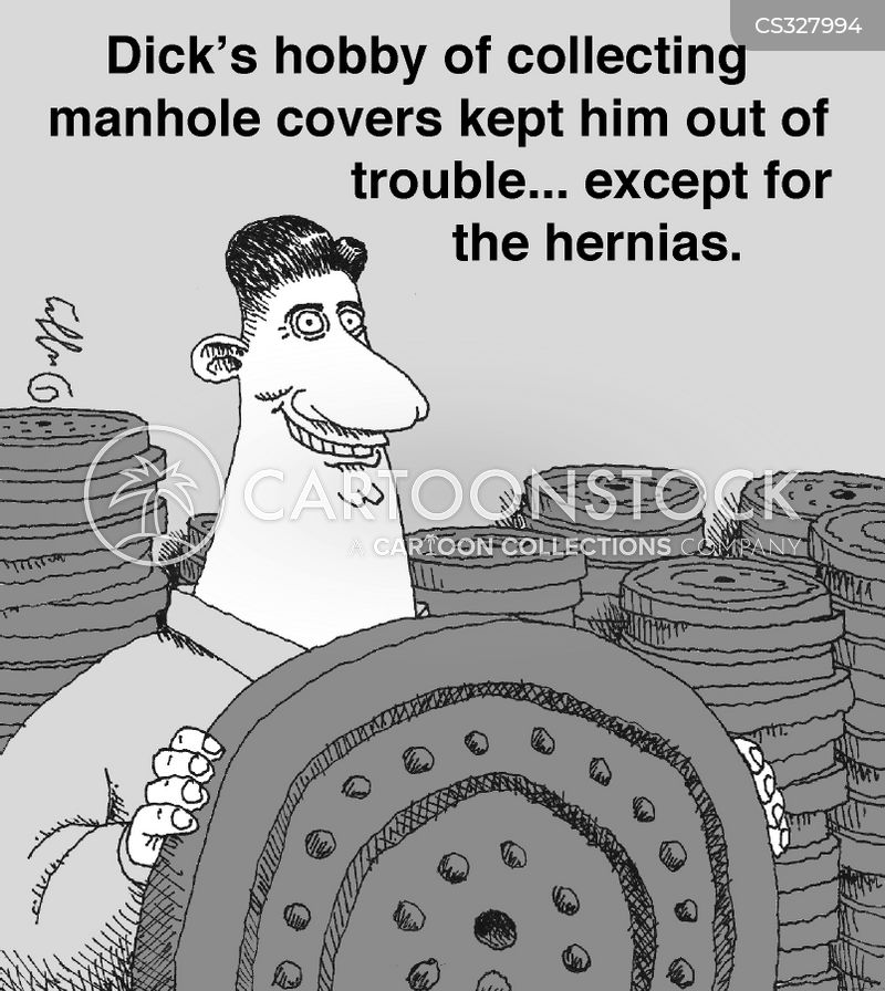 manhole covers cartoon