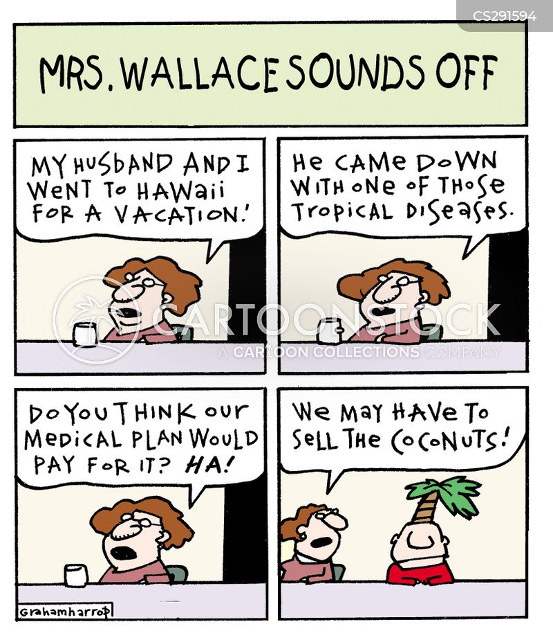 tropical disease cartoon