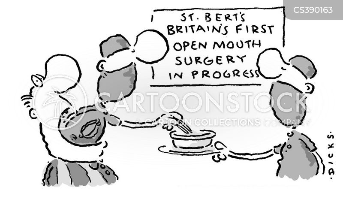 open mouth cartoon
