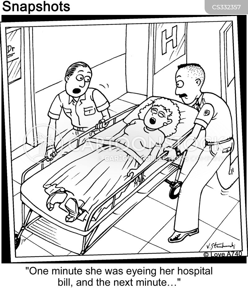 passing out cartoon