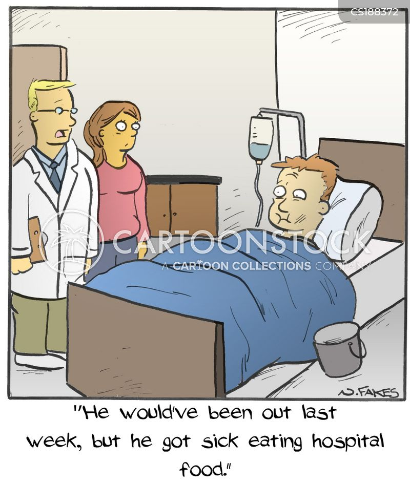 in hospital cartoon