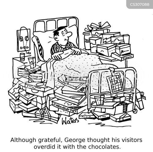 hospital visitors cartoon