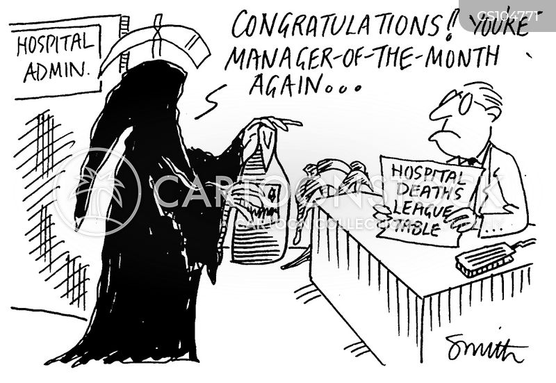manager of the month cartoons and comics