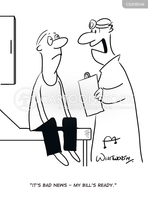hospital bills cartoon