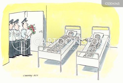 plastercast cartoon
