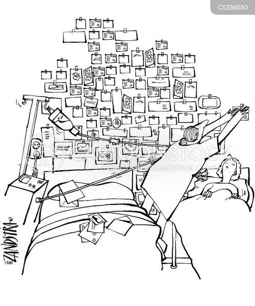 ward patients cartoon