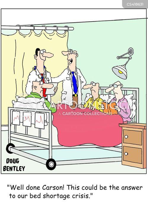 medical crisis cartoon