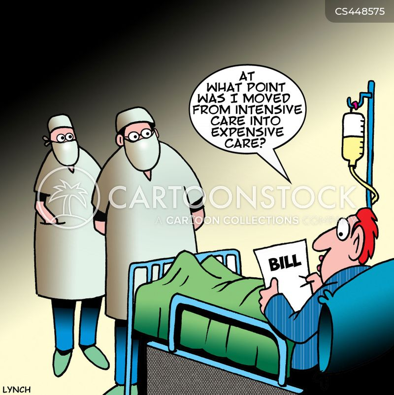 intensive care unit cartoon