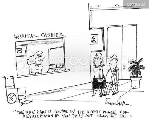 Cashier Cartoons: Hospital Cashier Cartoons And Comics