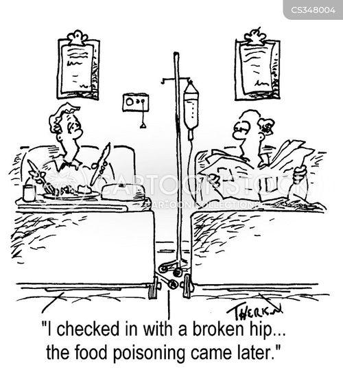 hospitalization cartoon