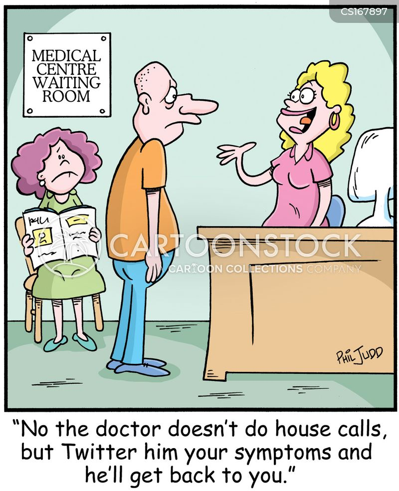 house call cartoon