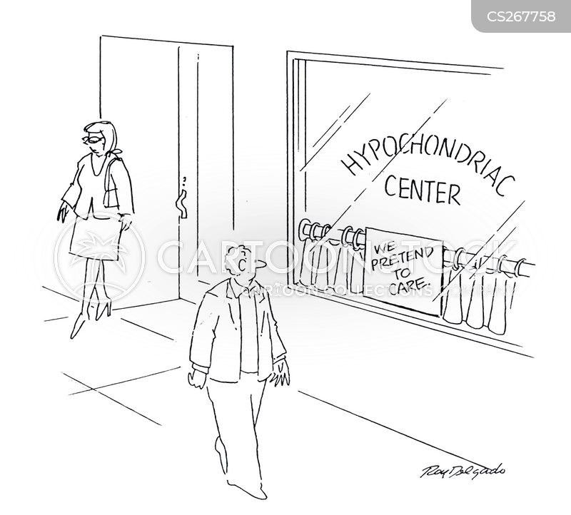 walk in centres cartoon