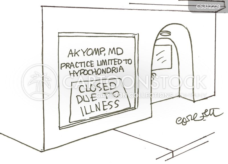 imaginary illness cartoon