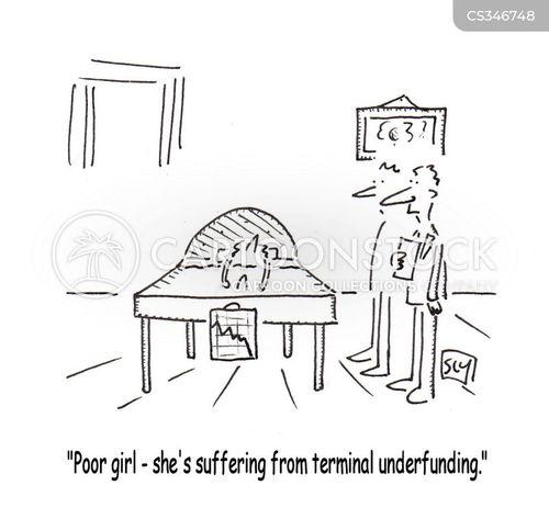 terminally ill cartoon