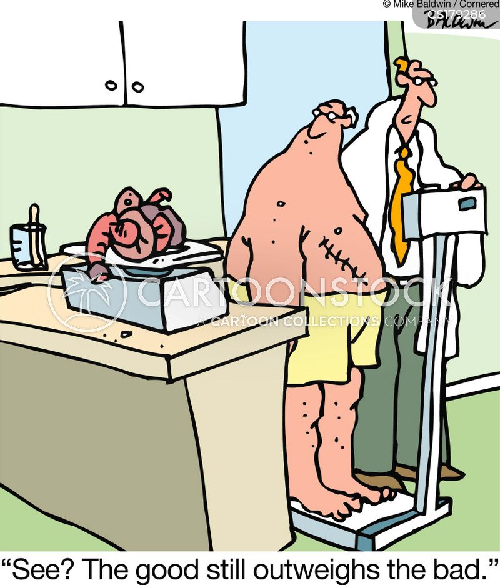 putting on weight cartoon