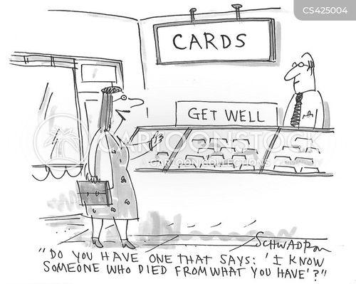 get well cards cartoon