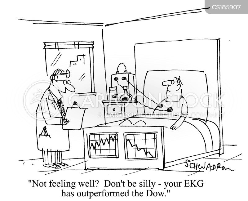 electrocardiogram cartoon