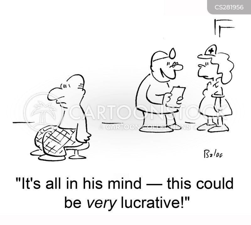 all in the mind cartoon