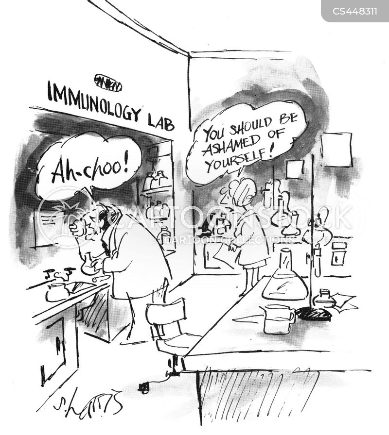 immunity cartoon