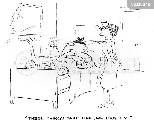 in patients cartoon